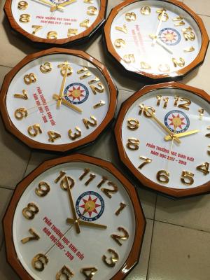 Đồng hồ lục giác-tròn, kích thước 38cm x 38cm DH 06
