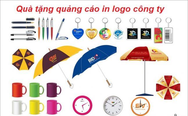 quà tặng quảng cáo in logo công ty