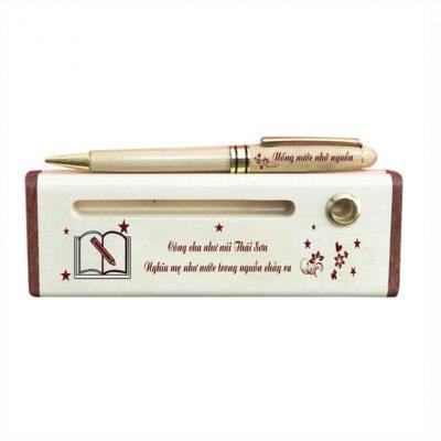 Bút kim loại, bút gỗ khắc tên