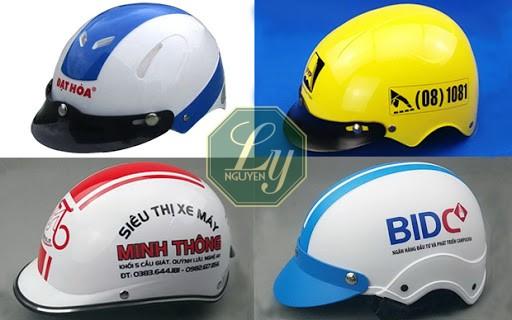 Bật mí bí mật của mũ bảo hiểm in logo