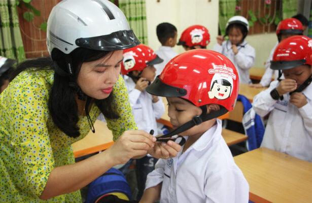 Tác dụng của việc đội mũ bảo hiểm